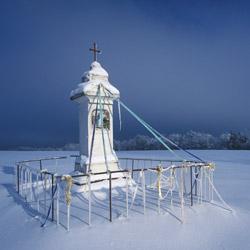 Roadside shrine, Western Roztocze